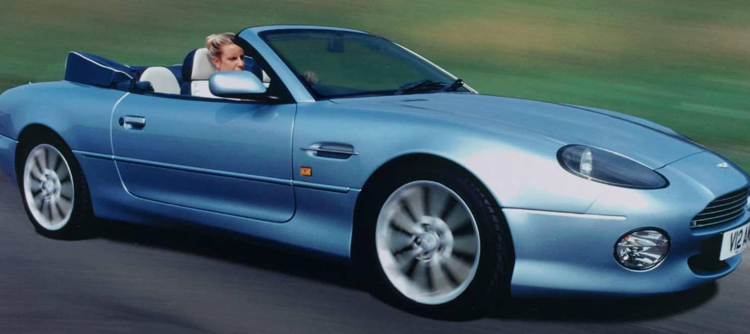 ASTON MARTIN DB7 VANTAGE VOLANTE HIRE UK