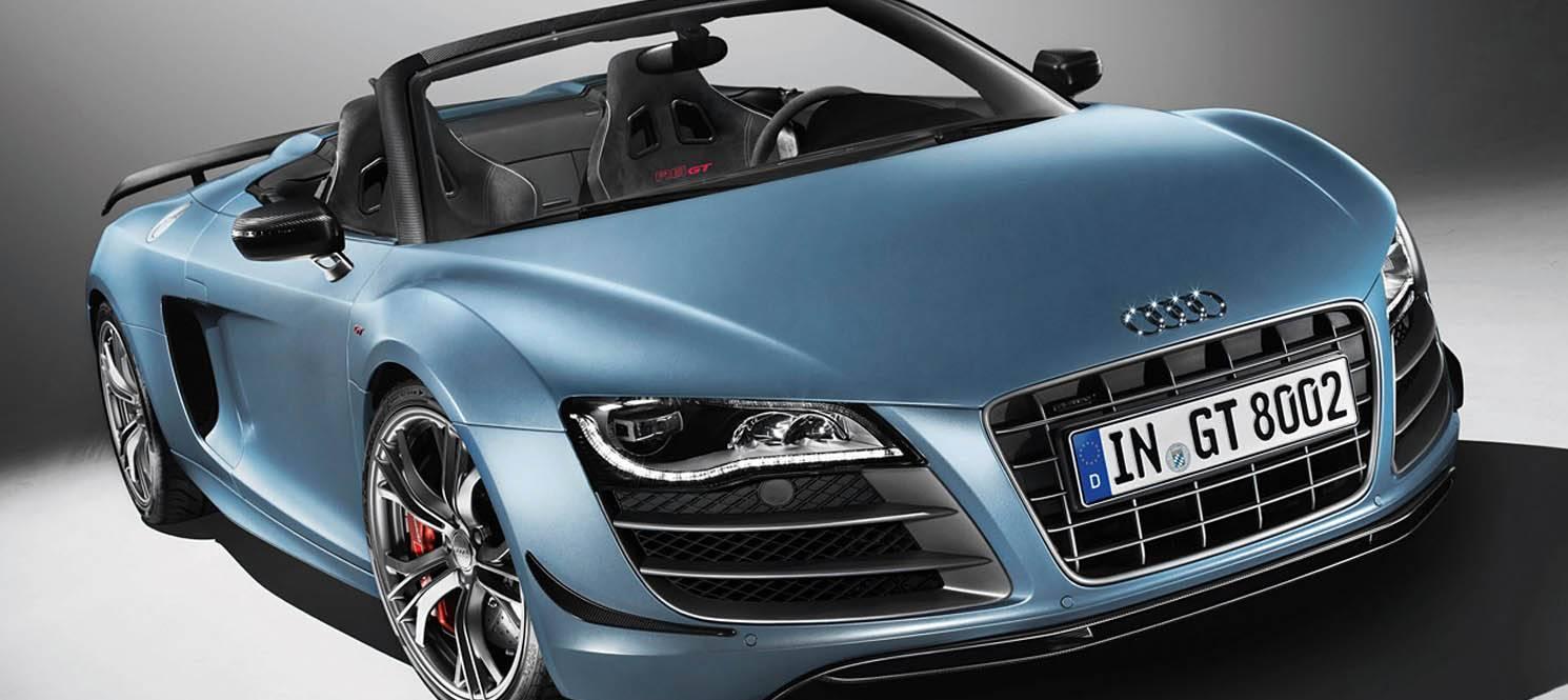 AUDI R8 SPYDER - Audi Luxury Hire Car UK