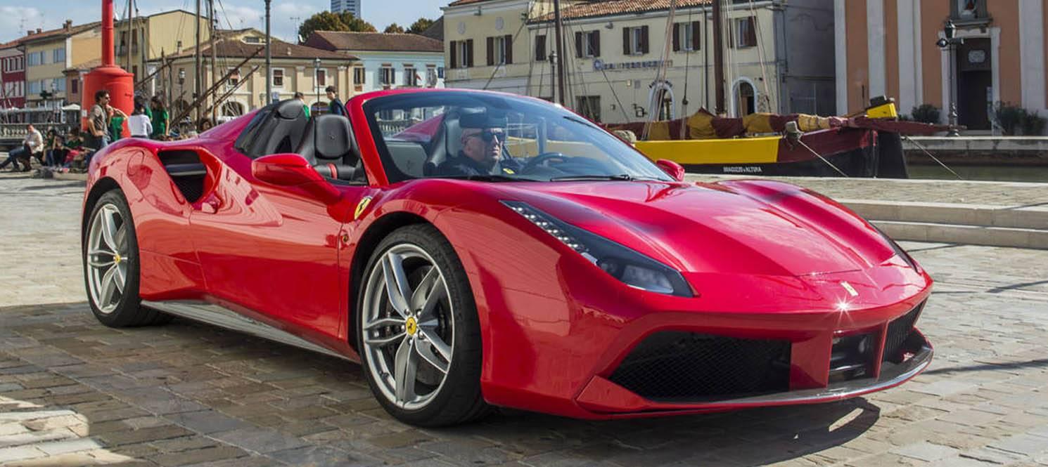 488 spider - Ferrari Luxury Car Hire UK