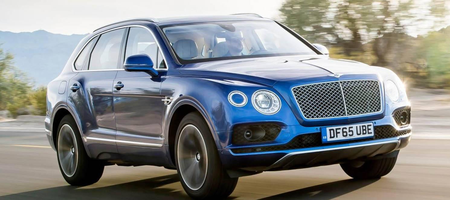 BENTLEY BENTAYGA - Bentley Luxury Car Hire UK