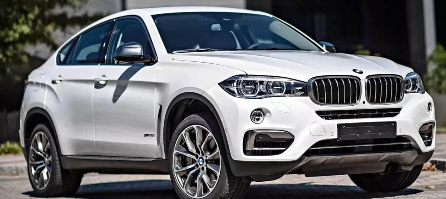 BMW X6 - 4 X 4 Luxury Car Hire UK