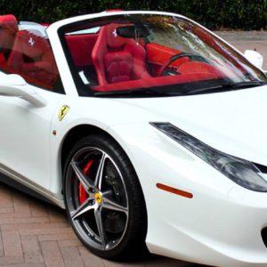 Ferrari Italia Spyder Hire UK