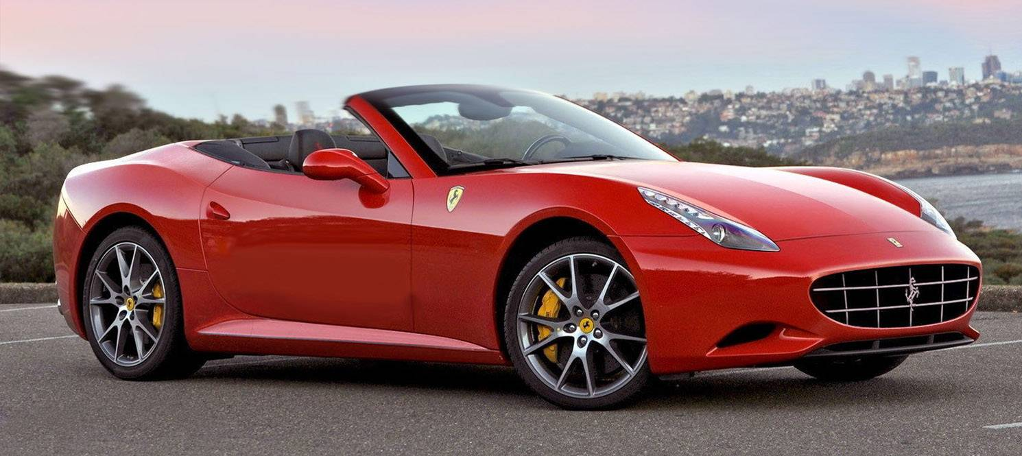 Ferrari California Luxury Hire UK