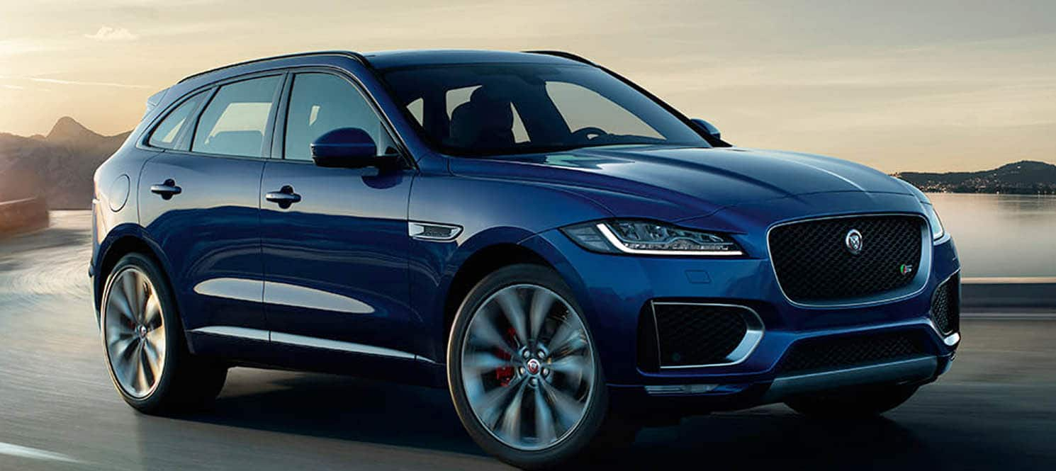 Jaguar F Pace  - Jaguar Luxury Car Hire UK