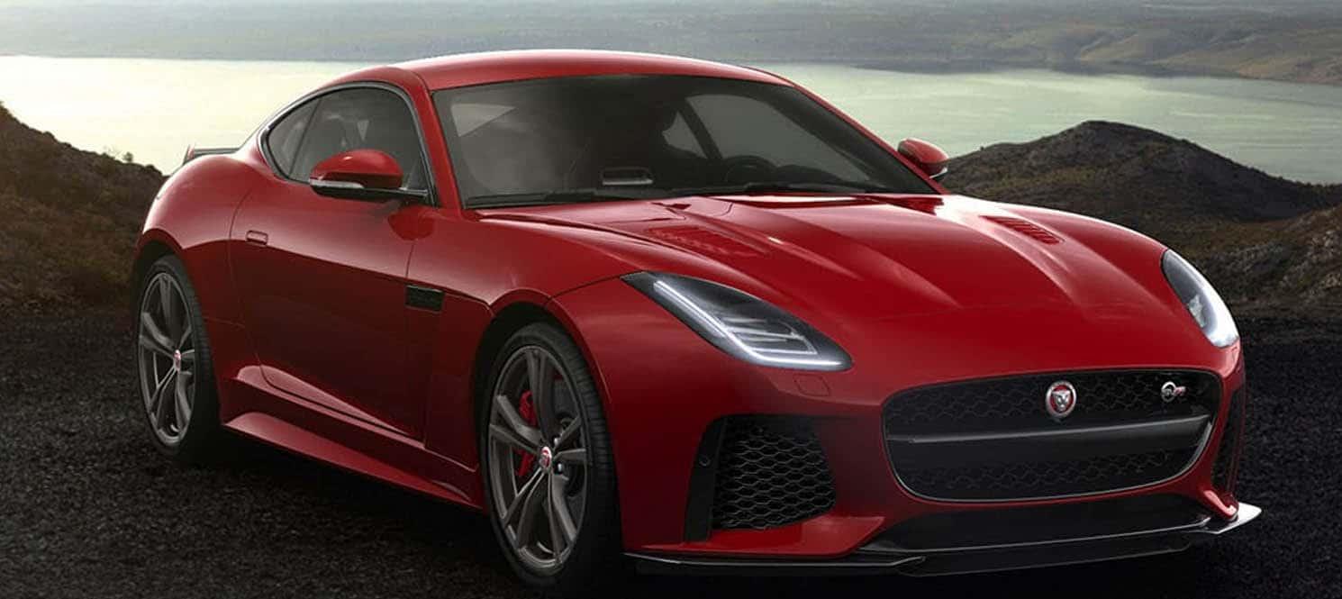 Jaguar F Type SVR  - Jaguar Luxury Car Hire UK