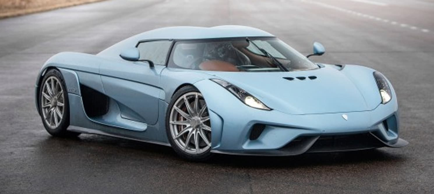 Koenigsegg Regera Hire UK