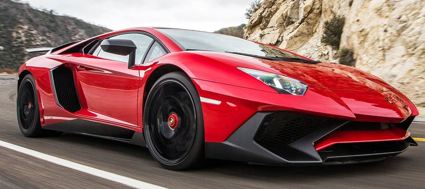 LAMBORGHINI AVENTADOR HIRE UK