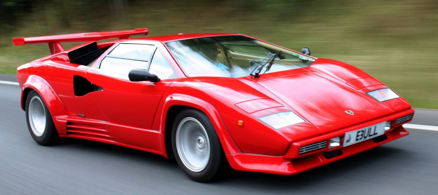 LAMBORGHINI COUNTACH HIRE UK