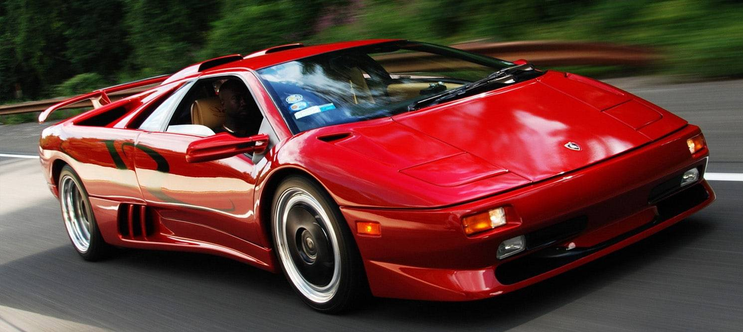 Lamborghini Diablo Hire UK