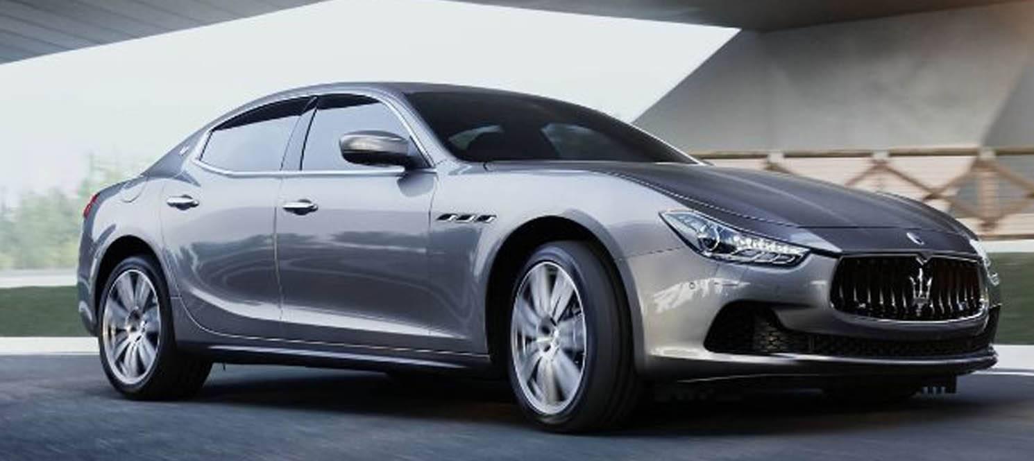 Maserati ghibli - Maserati Luxury Car Hire UK