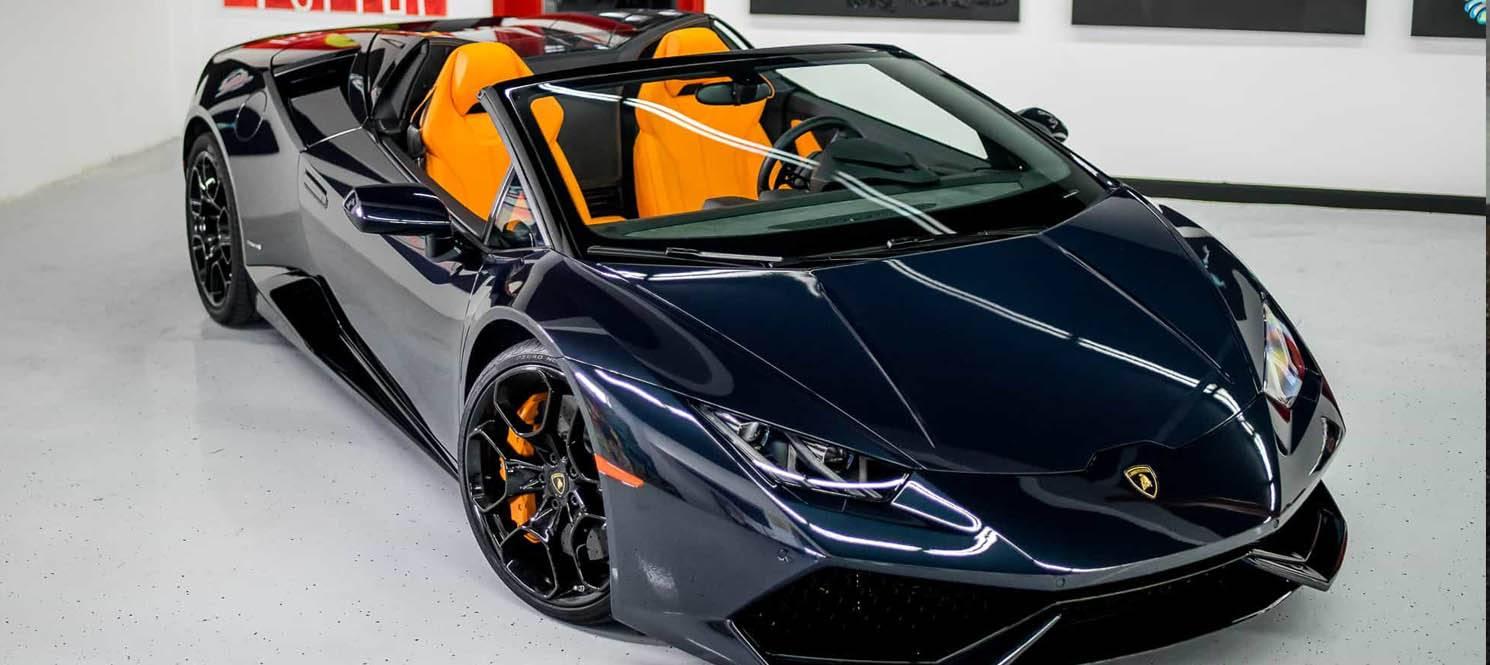 huracan spyder - Lamborghini Luxury Car Hire UK