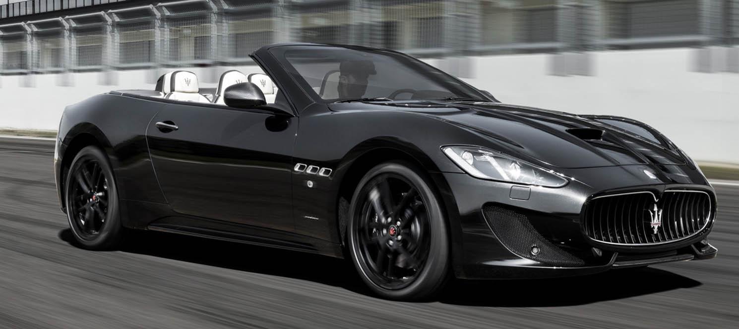 maserati gran cabrio - Maserati Luxury Car Hire UK