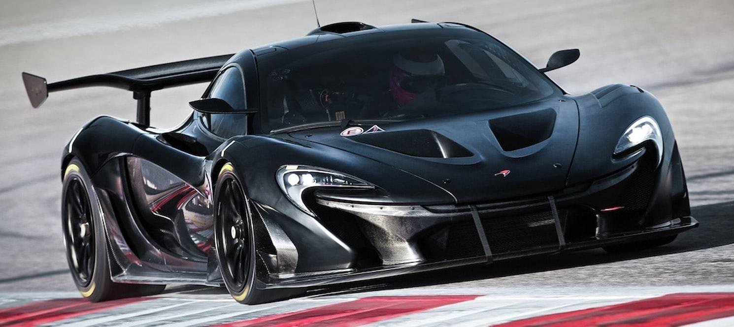 Hire Mclaren p1 GTR UK