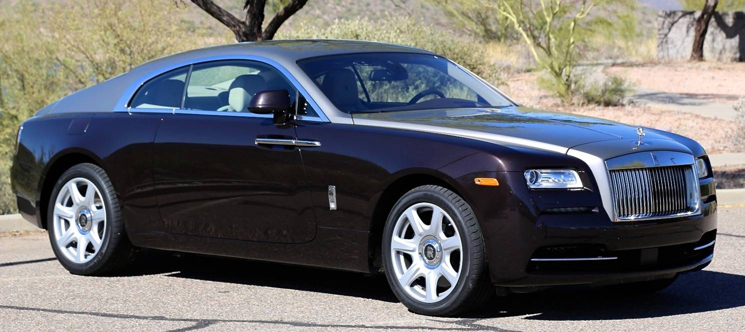 Rolls Royce Wraith HIRE UK