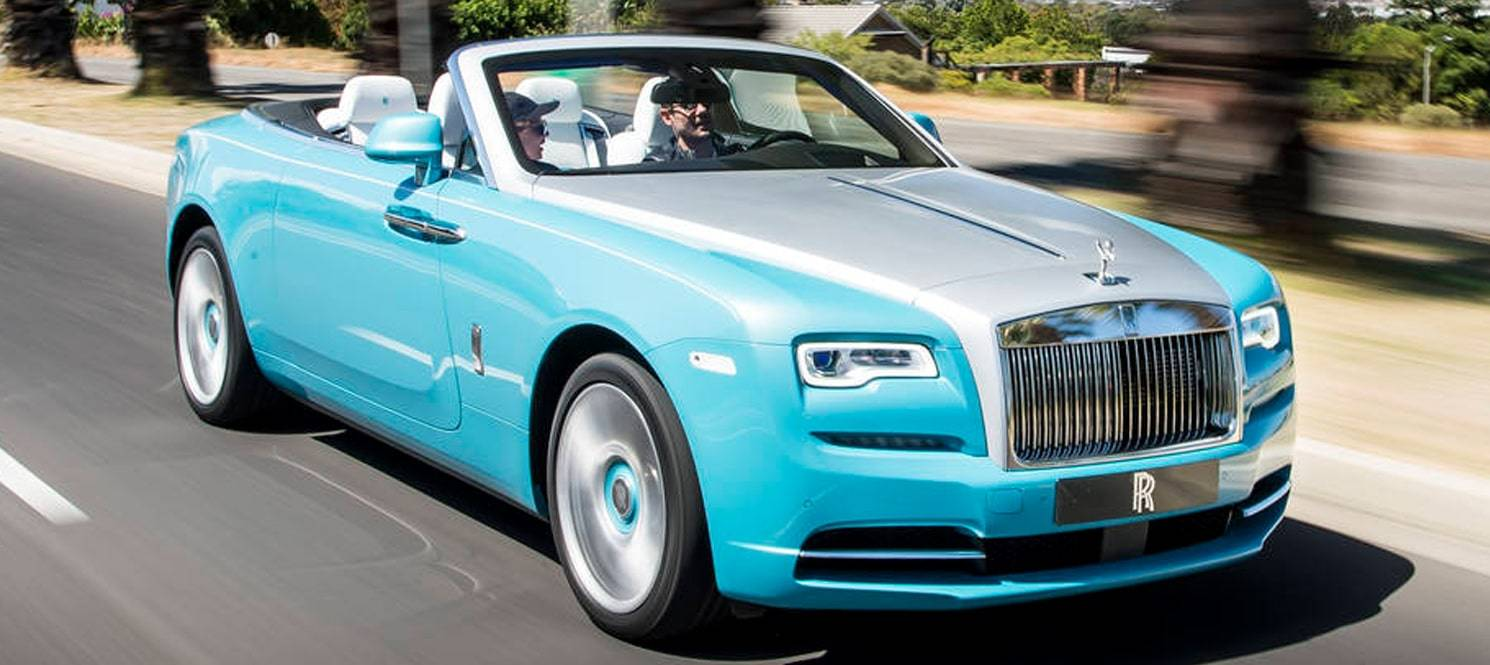 Rolls royce dawn hire