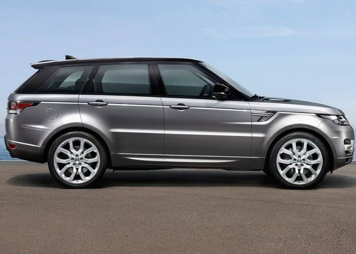 HIRE RANGE ROVER SPORT UK