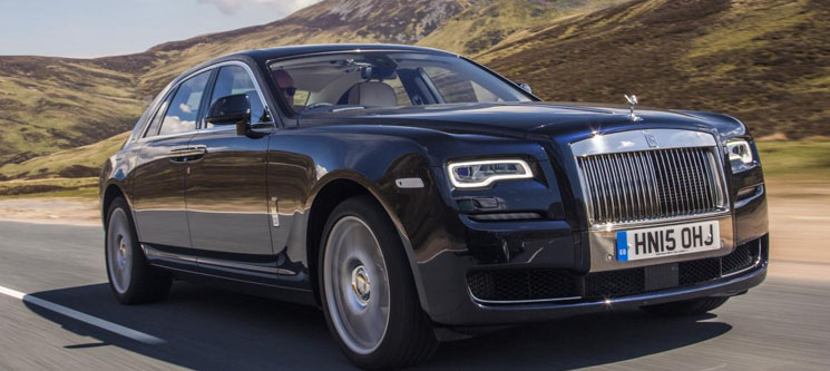 ROLLS ROYCE GHOST PROM HIRE
