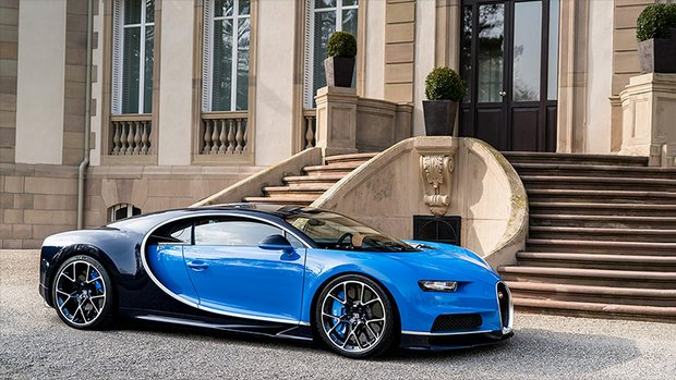 Bugatti Chiron - Top Five Fastest Supercars in the World: The Driveways of the Rich and Famous