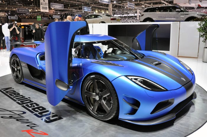 Koenigsegg agera s - Top Five Fastest Supercars in the World: The Driveways of the Rich and Famous