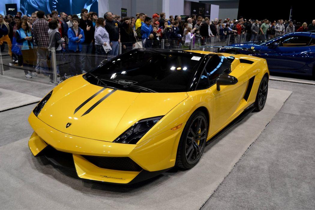 Lamborghini Gallardo LP570 spider - Lamborghini hire for prom