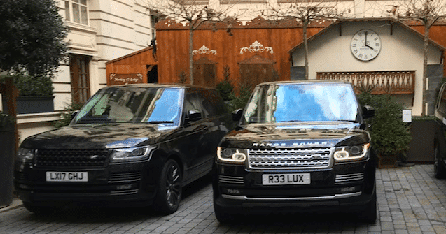 Range Rover Vogue and Range Range Rover autobiography - It's Snowing: The Best Luxury 4x4s For Snow