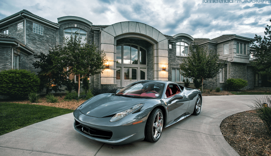 cars and mansions - Top Five Fastest Supercars in the World: The Driveways of the Rich and Famous