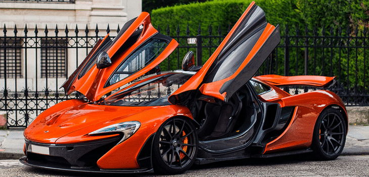 mclaren p1 - Top Five Fastest Supercars in the World: The Driveways of the Rich and Famous