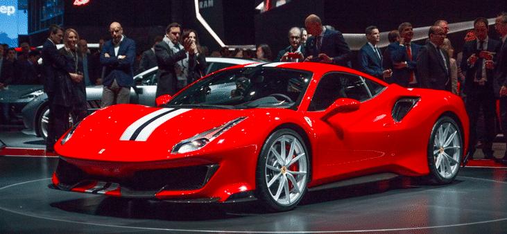 Ferrari 488 pista  - Geneva Motor Show Highlights: The Top Seven Luxury Cars Revealed