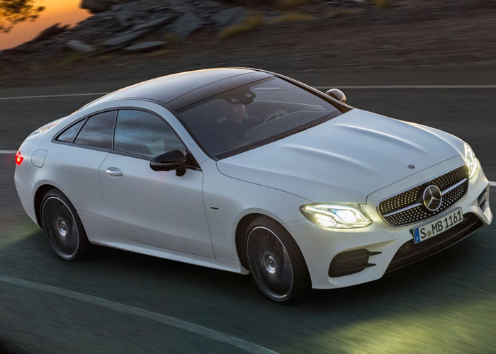 HIRE MERCEDES E CLASS COUPE UK