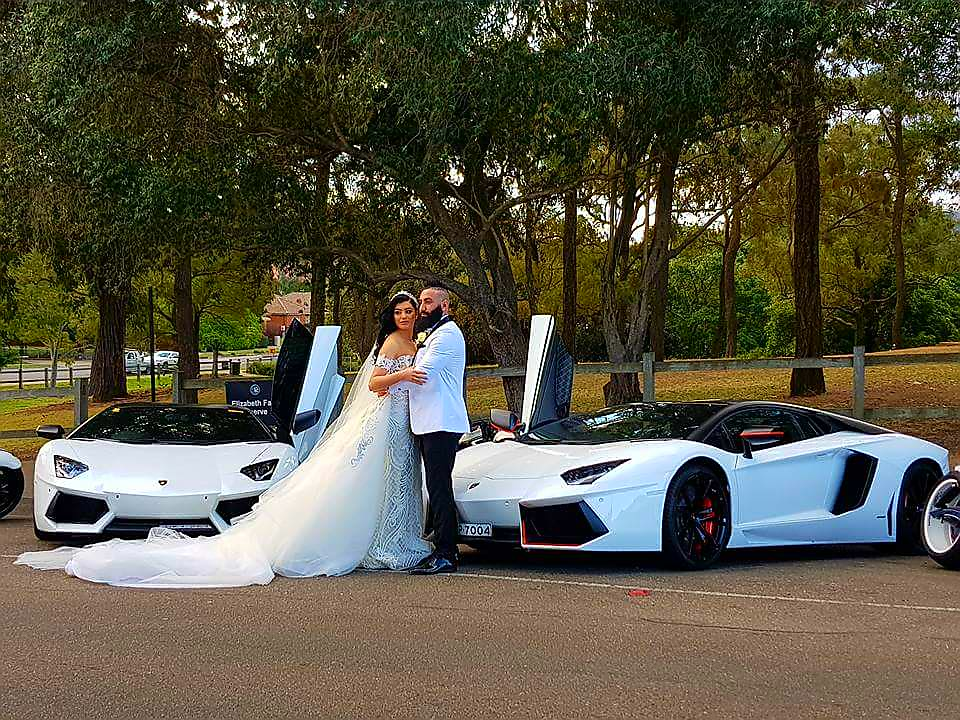 lamborghini wedding car - The Best Luxury Hire Cars for Your Wedding: From the Bride to the Guests