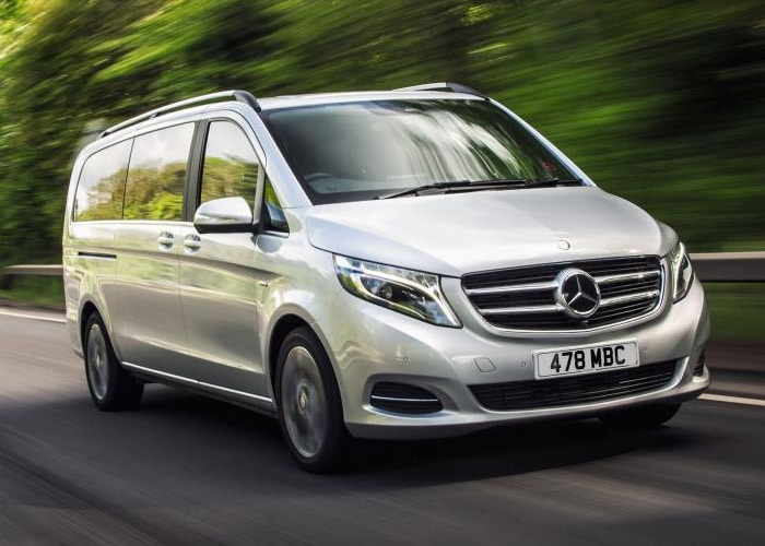 Mercedes V Class Chauffeur Hire UK