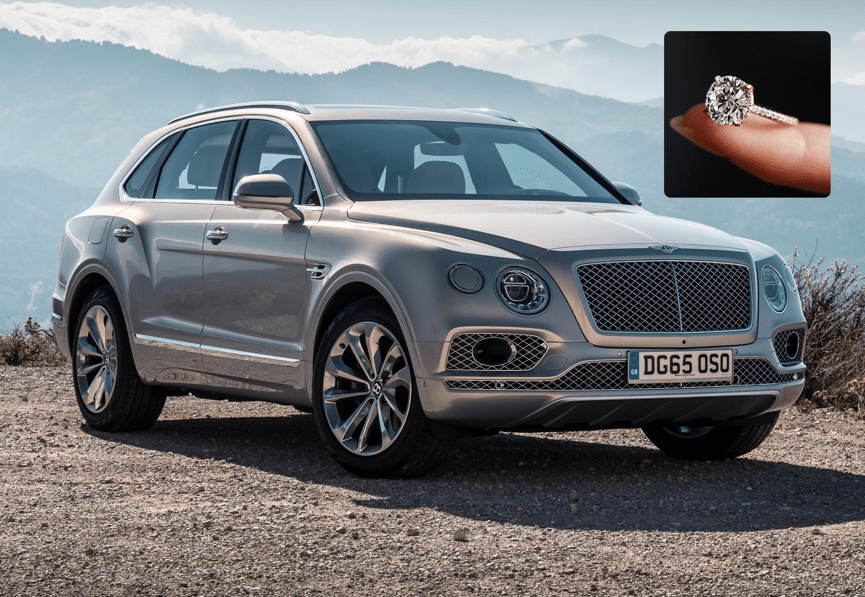 bentayga ring - Matching Your Girlfriend's Diamond Ring To Her Taste In Luxury Cars