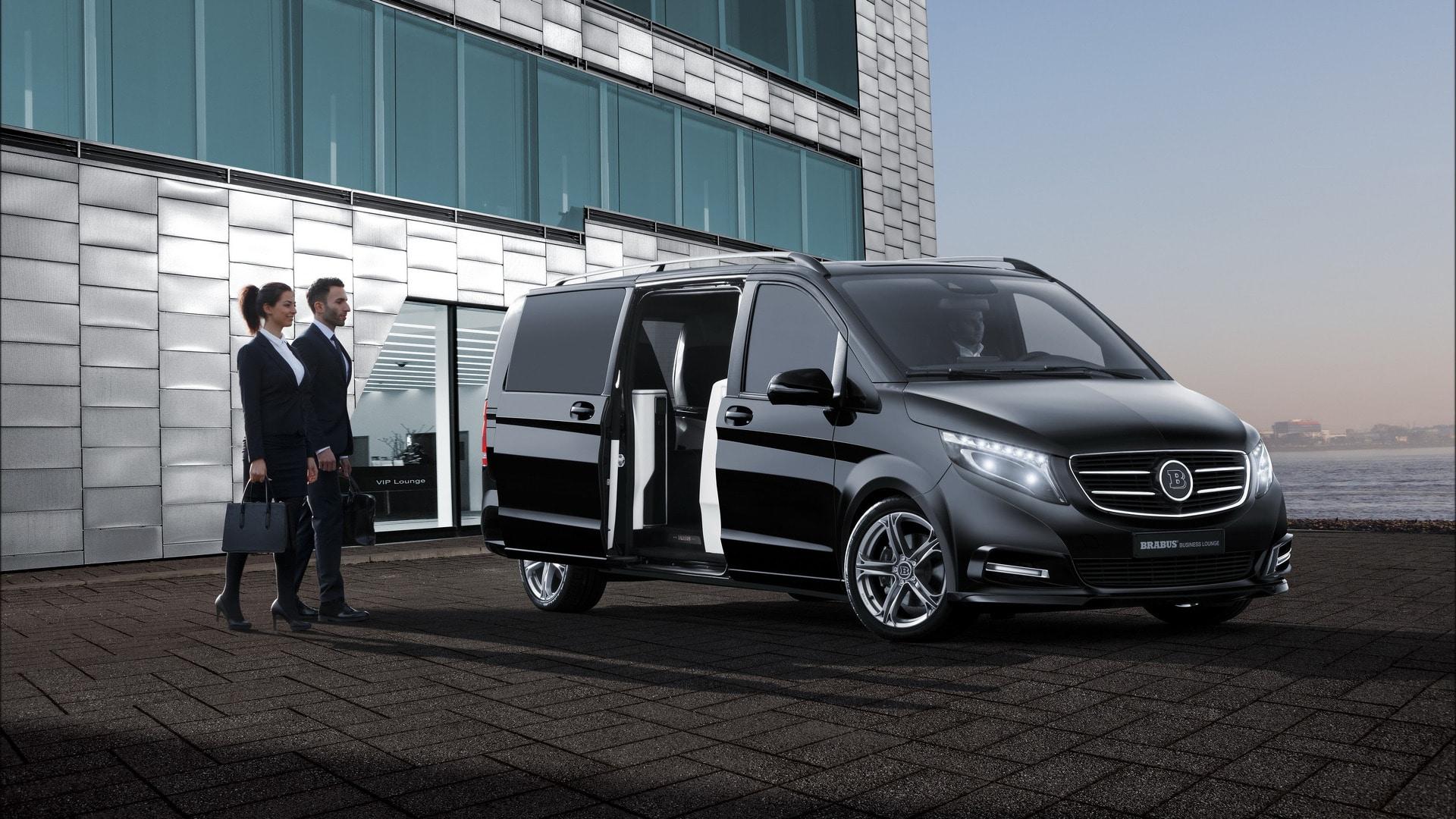 Mercedes V Class Chauffeur Hire UK