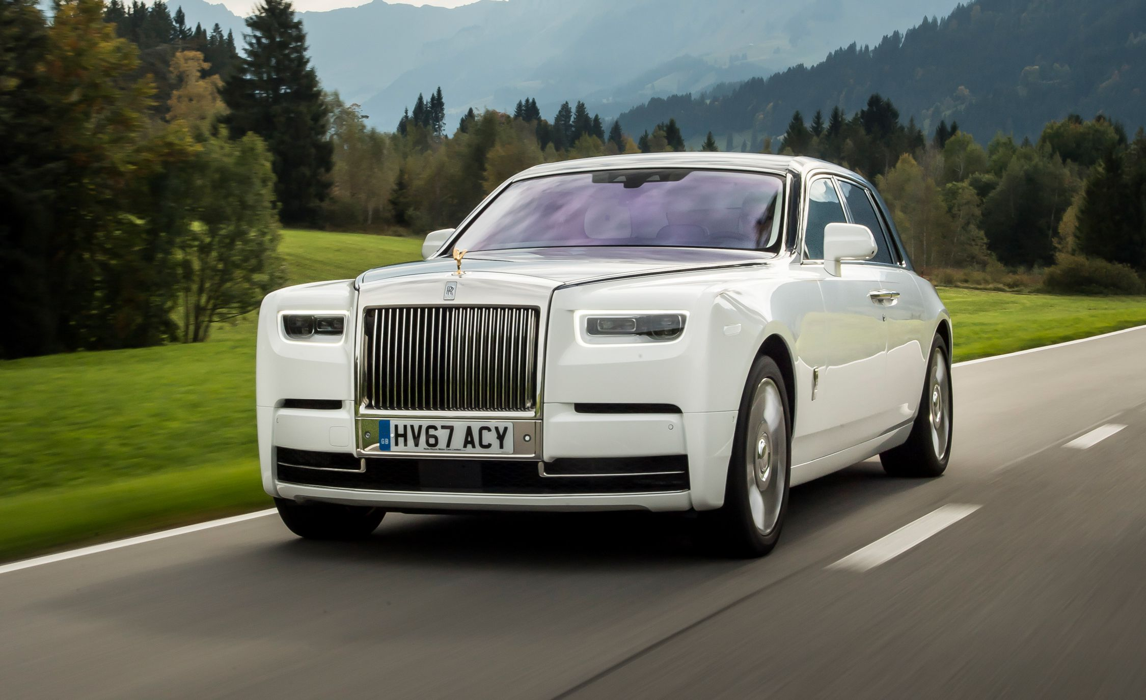 Rolls Royce Phantom Chauffeur Hire UK