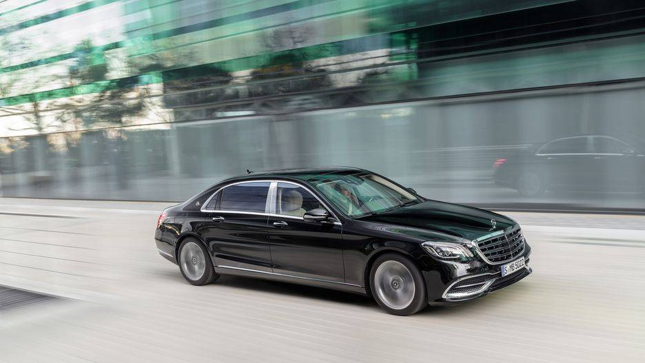 Mercedes Maybach Chauffeur Hire UK