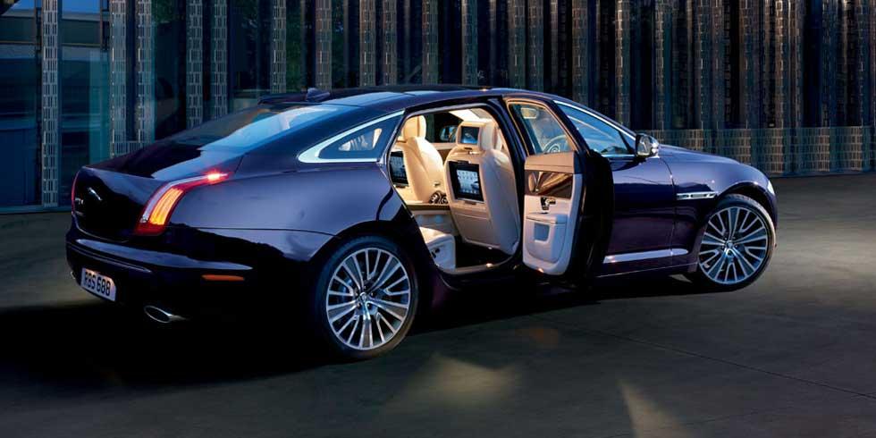 Jaguar XJ Chauffeur Hire UK