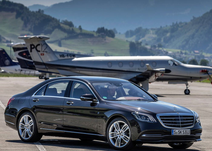 Mercedes S Class Chauffeur Hire UK