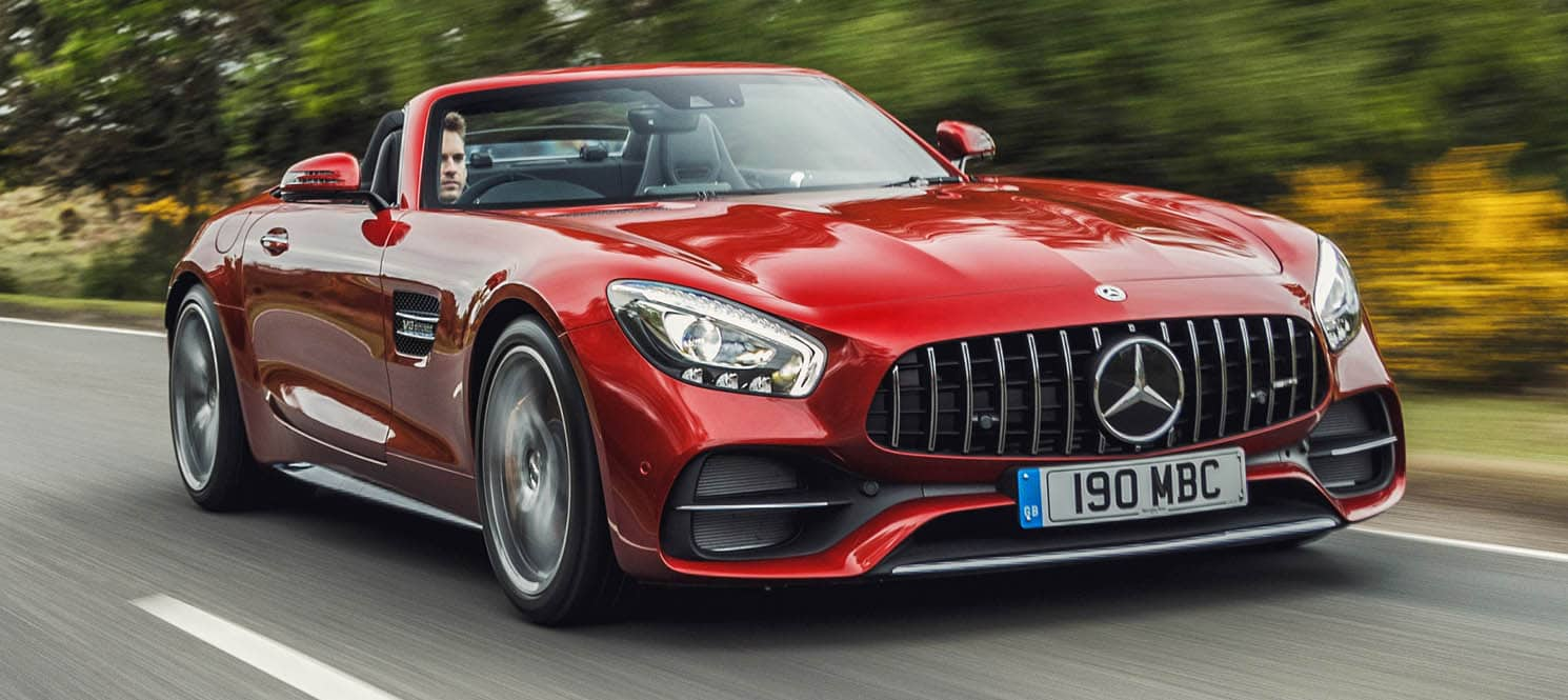 HIRE MERCEDES AMG GTC ROADSTER