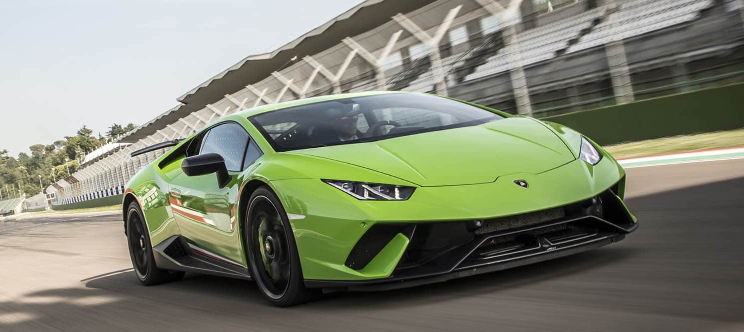HIRE LAMBORGHINI HURACAN PERFORMANTE