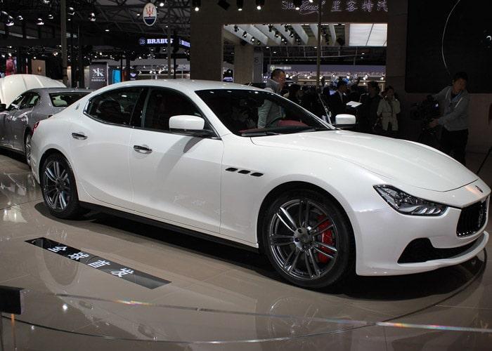 HIRE Maserati Ghibli UK