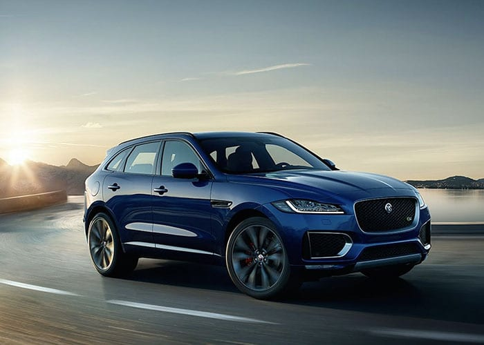 hire jaguar f pace uk