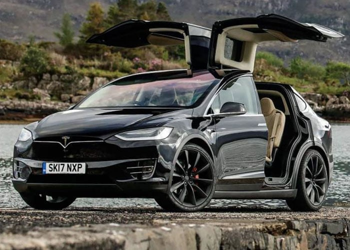 HIRE Tesla Model X P100D UK