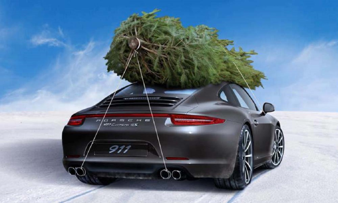 Christmas Sports Car.Merry Christmas And A Happy New Year From Starr Luxury Cars