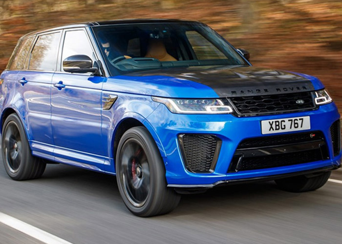 HIRE RANGE ROVER SVR UK