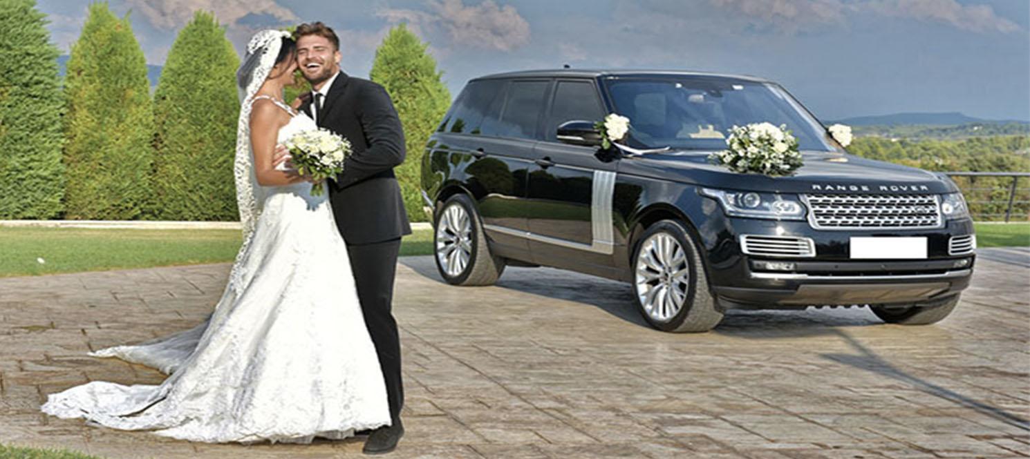 Range Rover Vogue wedding