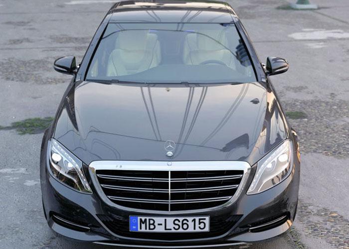 Mercedes S-Class LWB Wedding Car Hire UK