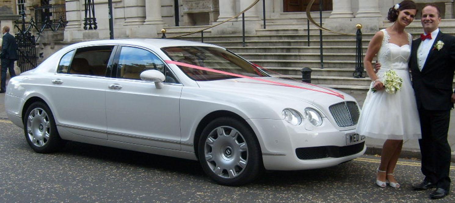 BENTLEY Flying Spur Wedding car hire