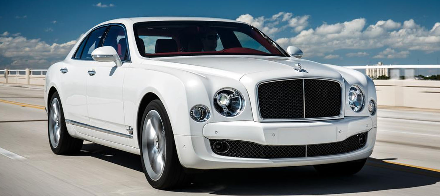 bentley mulsanne wedding car hire