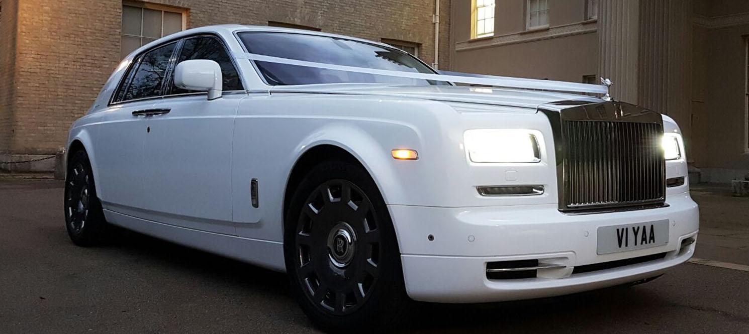 Rolls-Royce Phantom Series II Wedding Hire UK