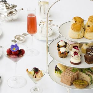 Harrods Champagne Afternoon Tea